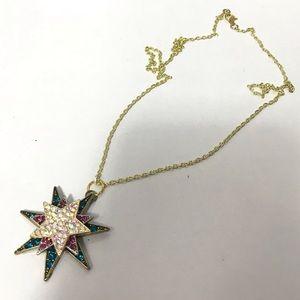 Handmade starburst necklace